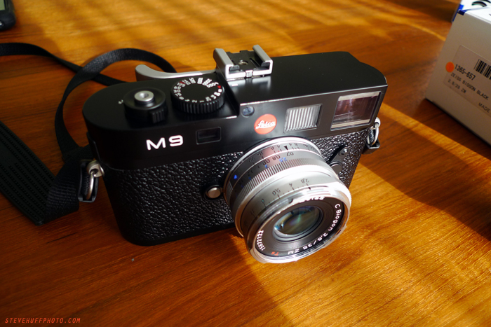 Zeiss Zm 35 Biogon C on Leica M9