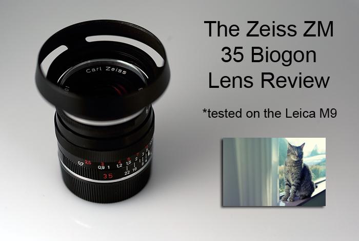 The Zeiss ZM 35 Biogon f/2 Lens review | Steve Huff Photo