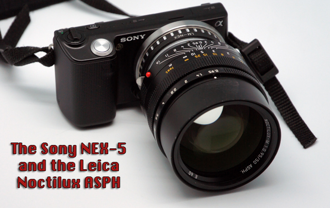 Leica Noctilux on Sony Nex-5