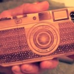 Very cool Iphone 4 Bamboo Leica M Case...