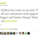 Noktor closes its doors