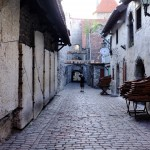 Taking a photo stroll in Tallinn Estonia with the Fuji X100 and Leica M9