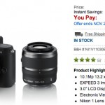 Nikon V1 Dual lens Kit on sale for $996!