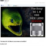 "Sony 50 1.8 Lens Review on the NEX-7 coming in the ""NEX"" 48 Hours"