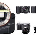 Sony Releases new firmware for NEX series cameras 3, 5, C3 and VG10
