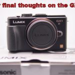 My final thoughts on the Panasonic GX1 vs E-P3
