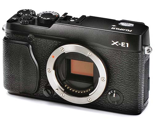 New Fuji Cameras – The X-E1 and a retro compact! Leaked images…