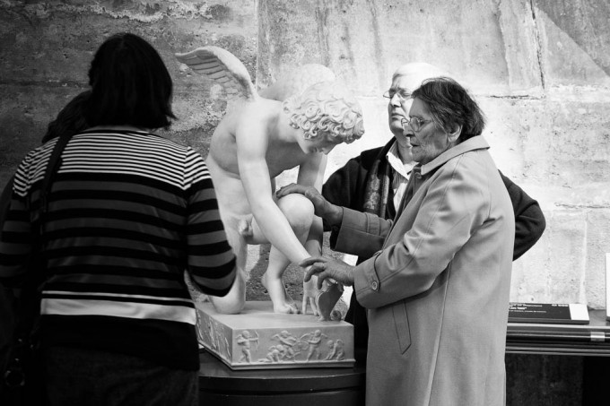 Feeling art, Louvre 2012