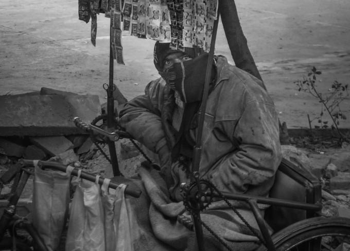Vendor in Agra