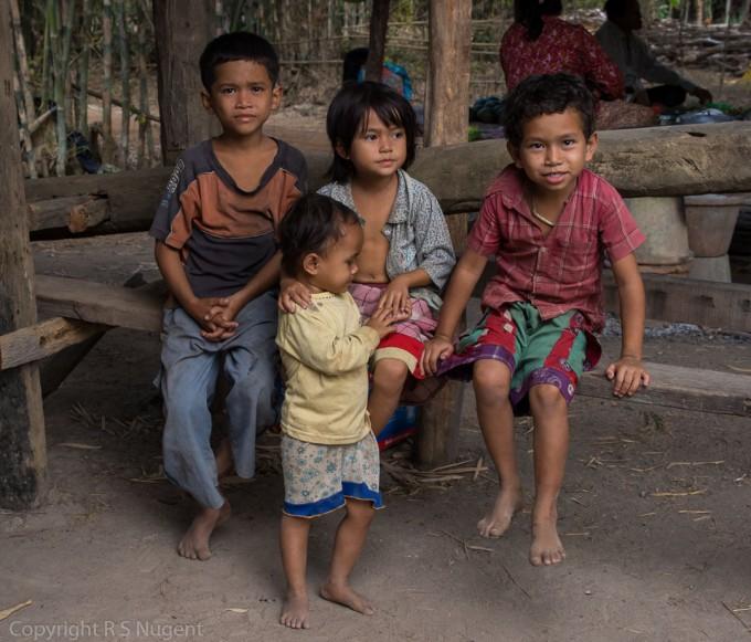 Near Kampong Chhnag, Cambodia
