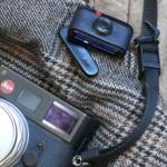 "A Handmade Real Brass Mini ""Leica"" SD Card Holder"