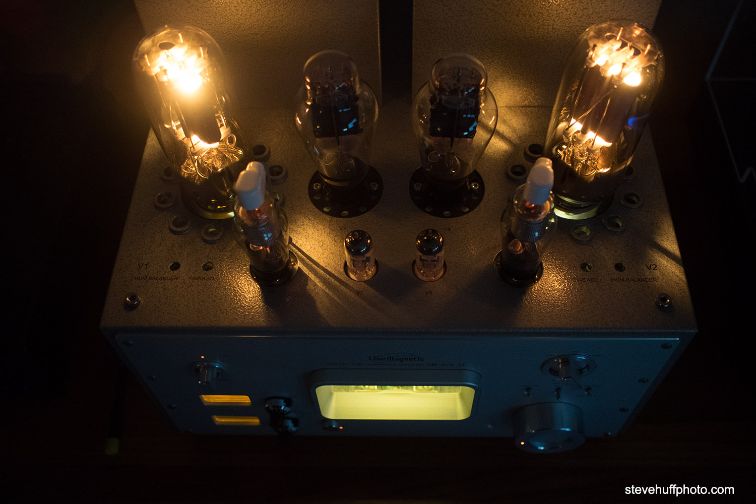Line Magnetic 219ia Integrated Tube Amp Review 300b And 845 Audio Note Conquest Power With Olympus Digital Camera