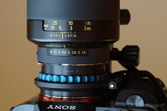 1.Aperture on lens