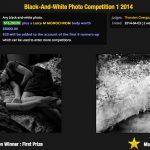 The winner of the $16,290 and Leica Monochrom from I-SHOT-IT!