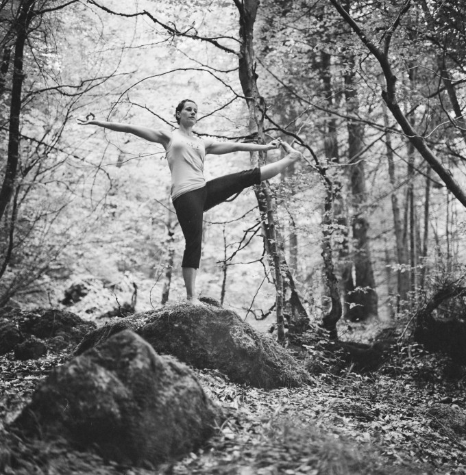 Doris yoga 02 - Rolleiflex