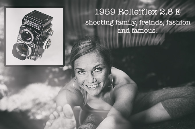 1959 Rolleiflex 2.8E – Shooting family, friends, fashion and famous! By Andy Jackson