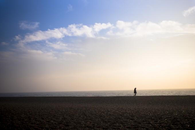 Shot 8 Woman On Beach