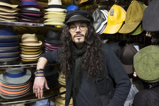 Man in Hat shop 2