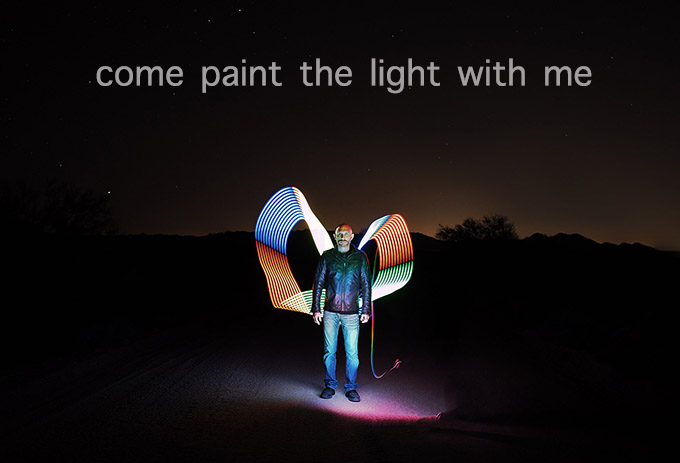 Light Painting Workshop, 1 night only! Join me and Alex McClure!
