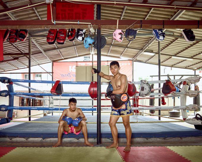 Thai boxers