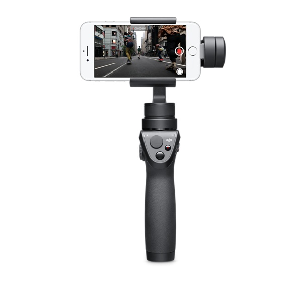 The DJI Osmo Mobile and Moondog Labs Anamorphic Lens  Wow