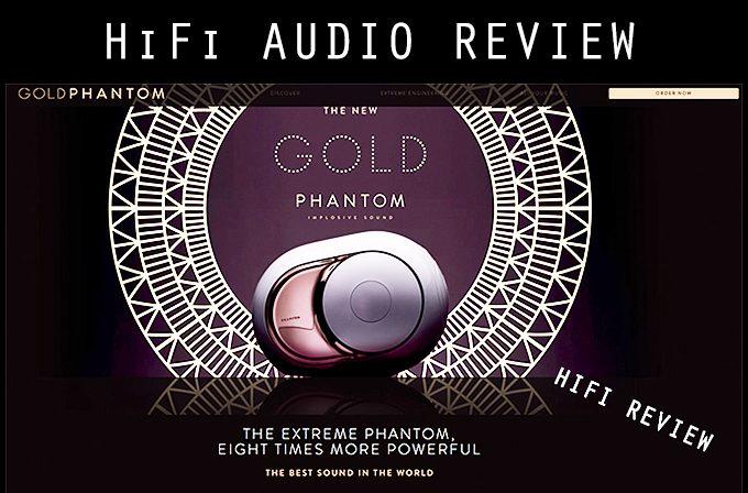 HiFi: The Devialet Phantom GOLD Speakers  Full Stereo Pair Review