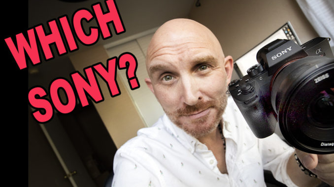 Sony Breakdown! Which model of Sony Camera should you Buy