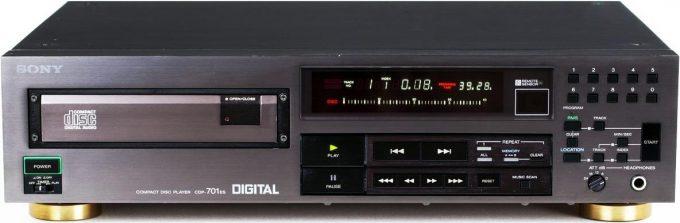 1980's CD player